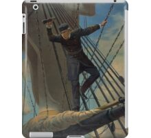 Lashed to the Shrouds Farragut passing the forts at Mobile in his flagship Hartford iPad Case/Skin