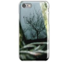 Tree-Black mirror and cold weather iPhone Case/Skin