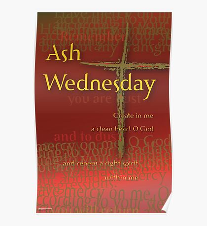 Ash Wednesday: Dust to Dust Poster