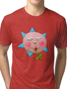 silly flowerguy Tri-blend T-Shirt