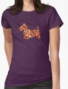 Scottish Terrier - Animal Art Womens Fitted T-Shirt