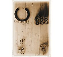 Blacksmith door Photographic Print