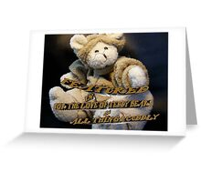 For The Love of Teddy Bears & All Things Cuddly Greeting Card