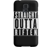 Adventurer with Attitude: Riften Samsung Galaxy Case/Skin