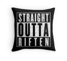 Adventurer with Attitude: Riften Throw Pillow