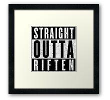 Adventurer with Attitude: Riften Framed Print