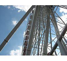 Ferris Wheel, Navy Pier, Chicago Photographic Print