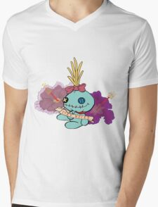 Stay Weird with Scrump Mens V-Neck T-Shirt