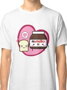 Kawaii Nutella and sandwich bread Classic T-Shirt