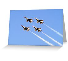 Air Force Thunderbirds Greeting Card