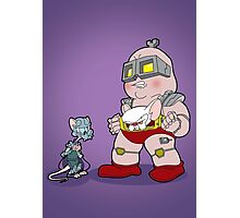 Gee Kraang what are gonna do tonight? Photographic Print