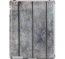 Gray Wooden Planks iPad Case/Skin