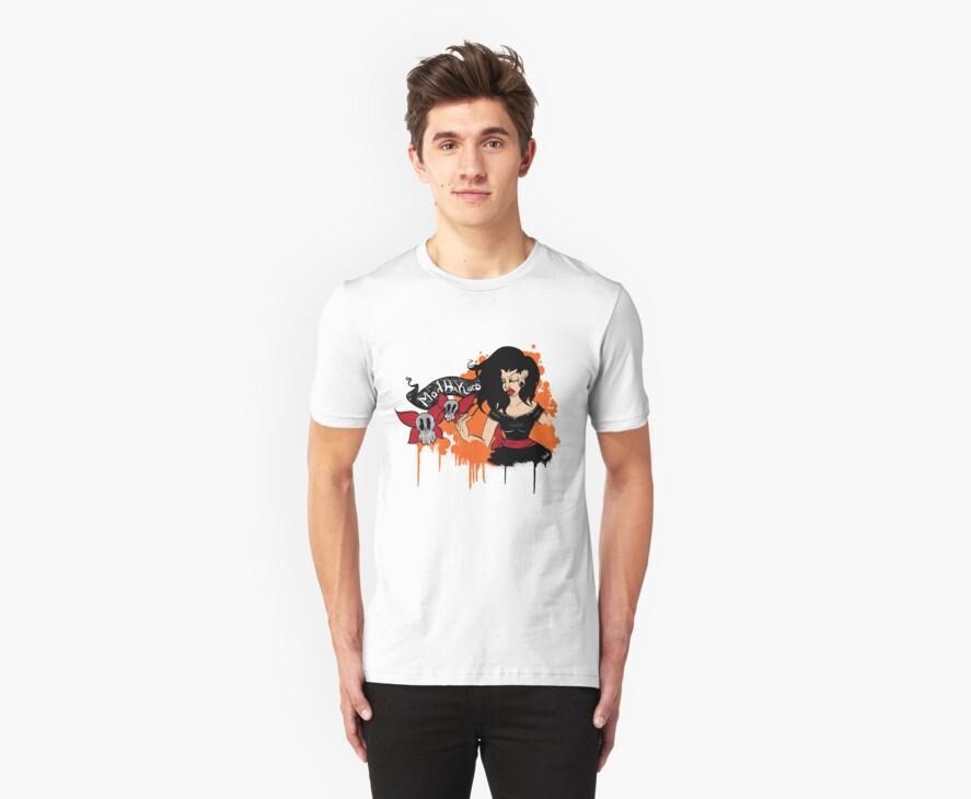Mad Hakers shirt by SadisticSorrowx