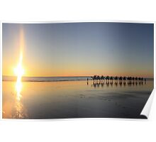 Cable Beach Poster