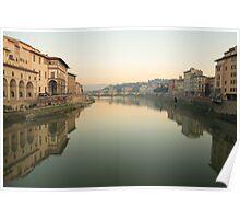 Arno River - Florence Poster
