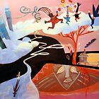 wierd music in my head by Marianna Tankelevich