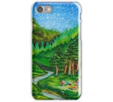 Home is where the campfire burns iPhone Case/Skin