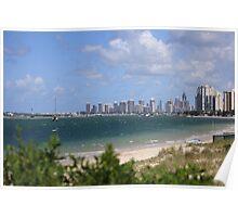 Surfers Paradise Landscape Poster