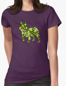 French Bulldog - Animal Art Womens Fitted T-Shirt