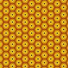 Sunflower bursts by incurablehippie