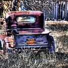 Pickup - Rosston , Texas by jphall