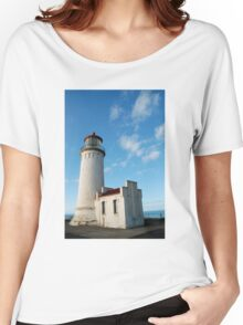 North Head Lighthouse, Cape Disappointment, Washington Women's Relaxed Fit T-Shirt