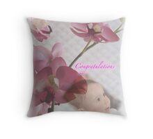 Congratulations Throw Pillow