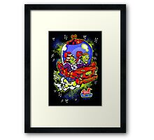 Space Rotten Framed Print
