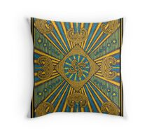 Bright and Curly  Throw Pillow