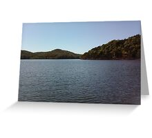 Pretty Lake Picture Greeting Card