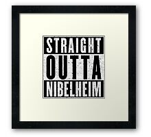 Nibelheim Represent! Framed Print