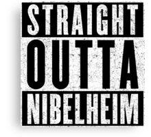Nibelheim Represent! Canvas Print