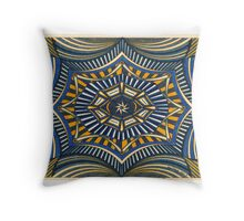 Depth Perception in Stripes Throw Pillow