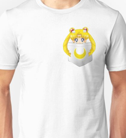 Sailor Moon pocket Unisex T-Shirt