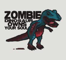 Zombie Dinosaur by GeekCupcake
