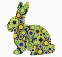 Bunny - Animal Art Kids Tee