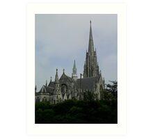 First Church Dunedin, New Zealand. Art Print