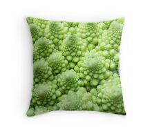 Romanesco Broccoli Throw Pillow