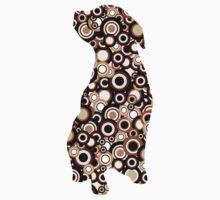 Chocolate Lab - Animal Art Kids Tee