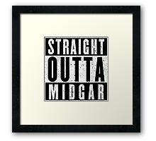 Midgar Represent! Framed Print
