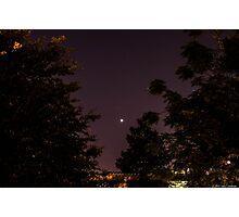 Venus and Jupiter in Spring Sky Photographic Print