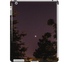 Venus and Jupiter in Spring Sky iPad Case/Skin