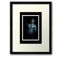 Raw Man! Framed Print