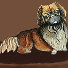 Chien Chienm , the Pekiniges by AniaMMilo