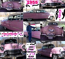 1955, Pink Cadillac, and Elvis by Charldia