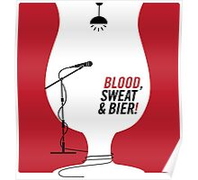 Blood Sweat & Bier Poster