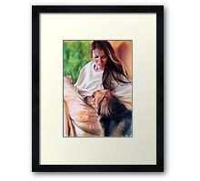 #39 Bonnie and Kodi  Framed Print
