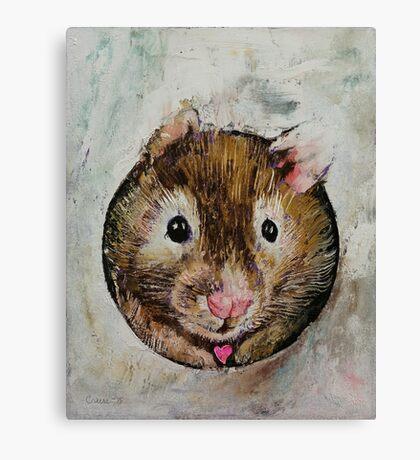 Hamster Love Canvas Print