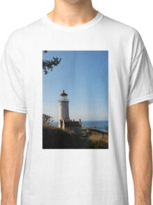 North Head Lighthouse, Cape Disappointment, Washington Classic T-Shirt