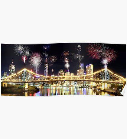 Brisbane Night Show Poster